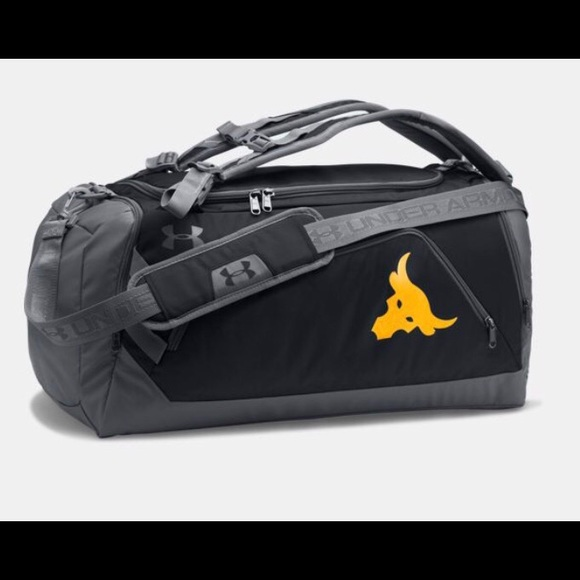 🔥SALE🔥 Under Armour Project Rock Duo Duffle Bag 52f631c07662d